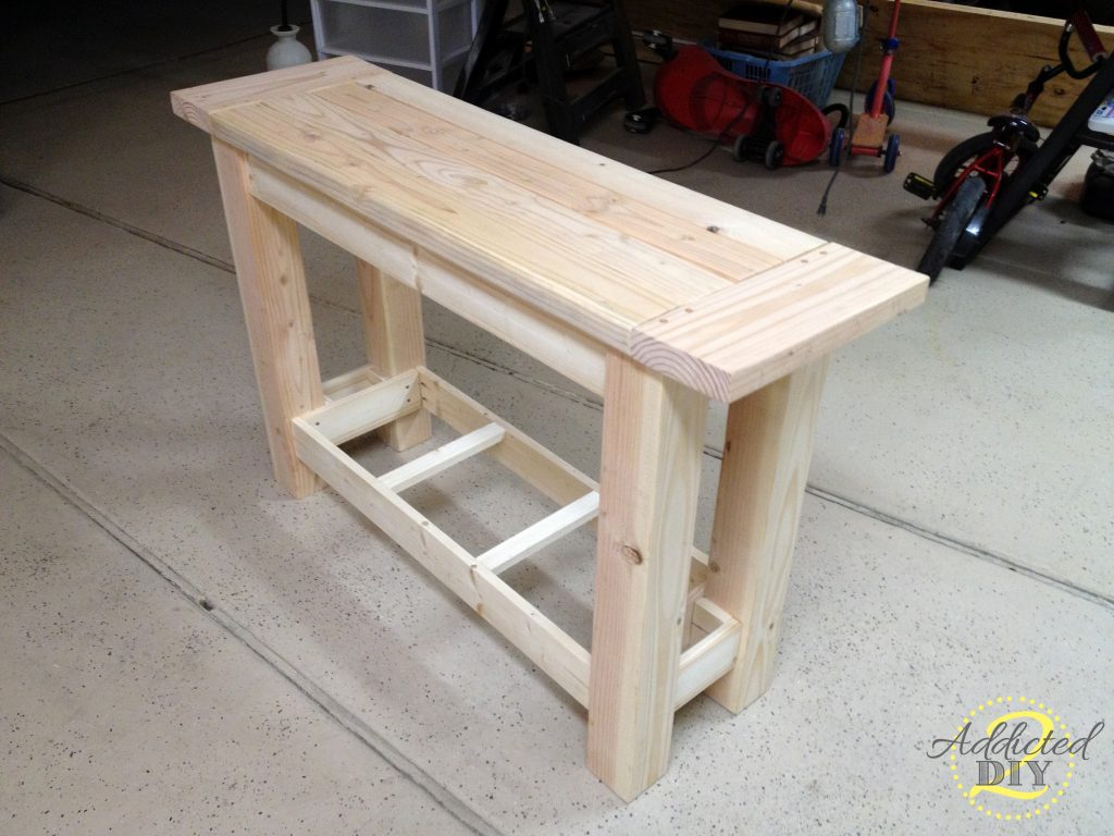 diy console table plans plans diy free download build