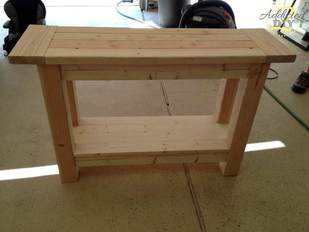 Building a Cheap End Table