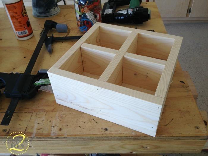 Double-Decker Mason Jar Craft Caddy