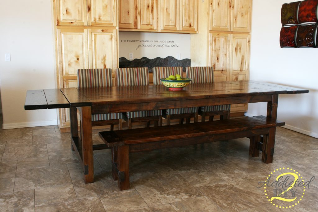 Farmhouse Table Plans With Extensions Pdf Woodworking