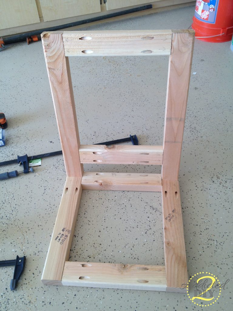 attaching seat supports