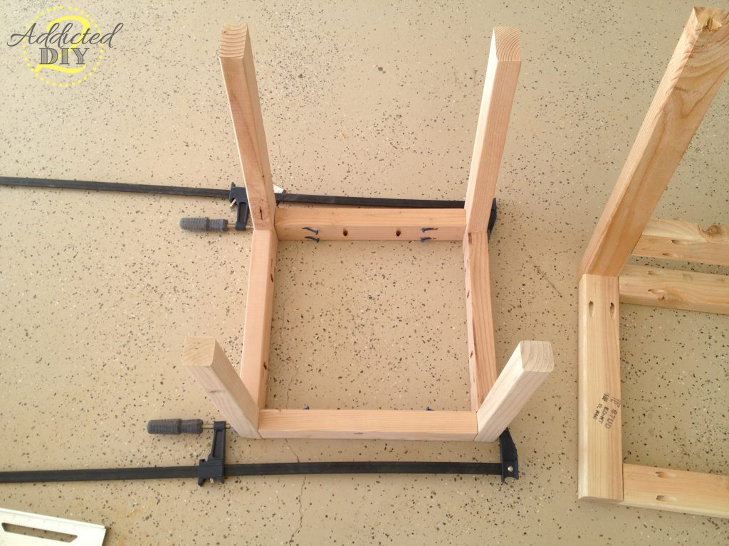 assembling chair base