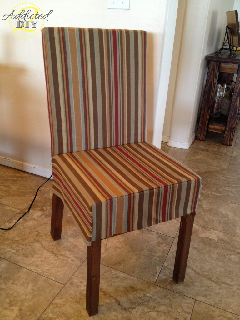 sewn chair upholstery