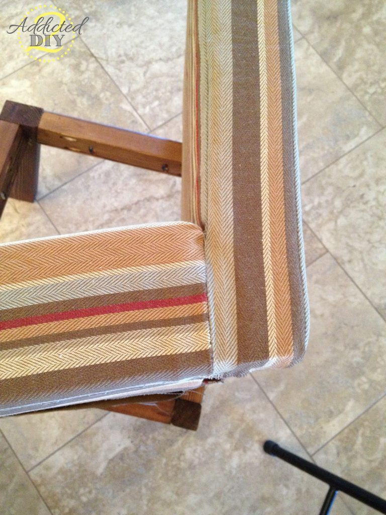 upholstering chair