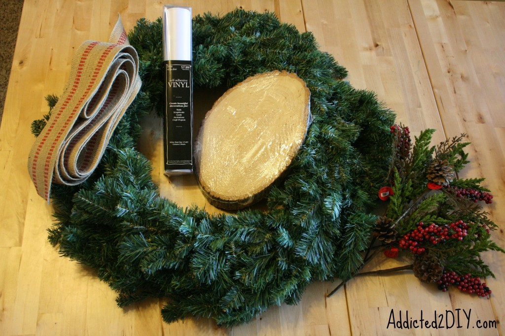 DIY Monogram Wreath 1