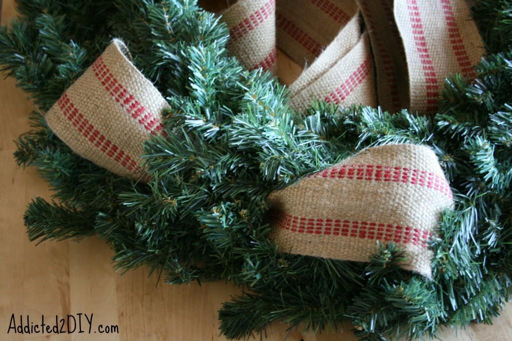 DIY Monogram Wreath 3