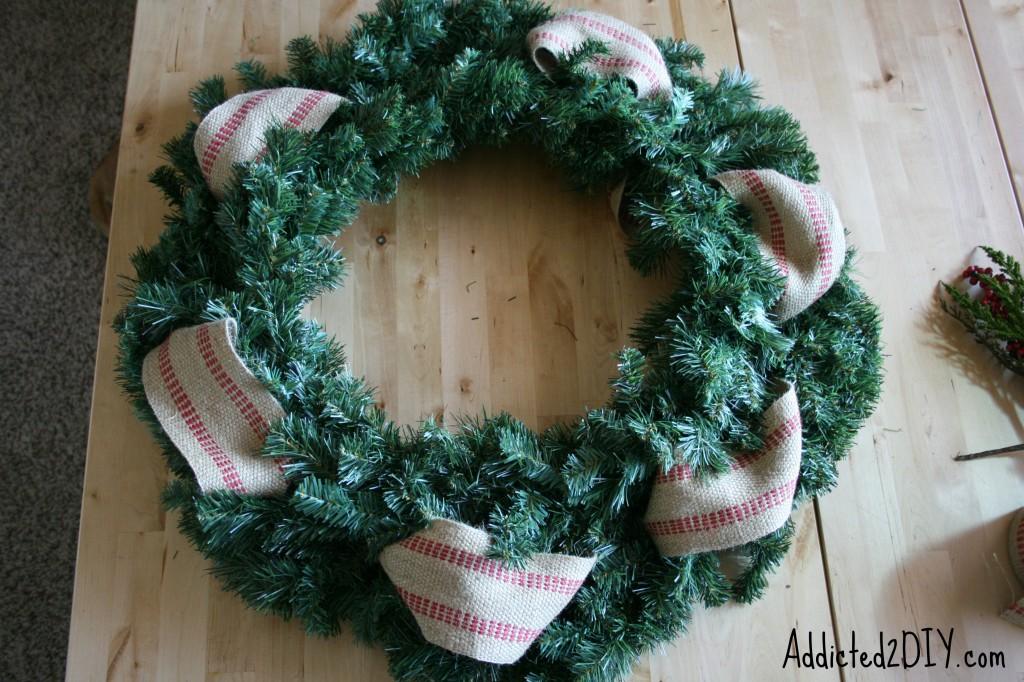 DIY Monogram Wreath 4