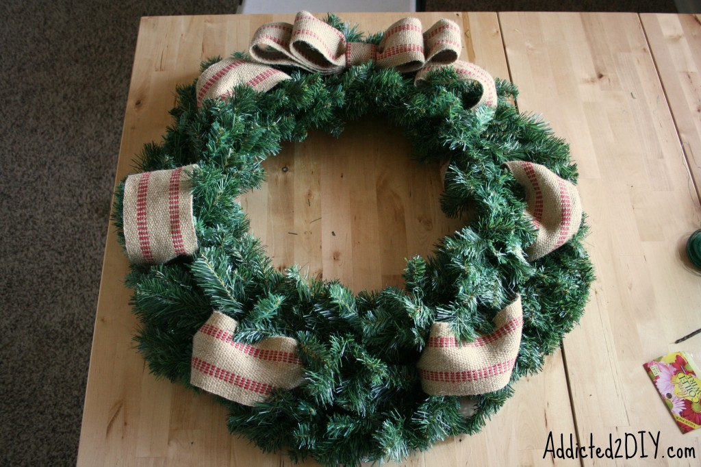 DIY Monogram Wreath 8