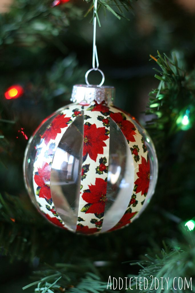 Quick & Easy Christmas Ornaments - Addicted 2 DIY