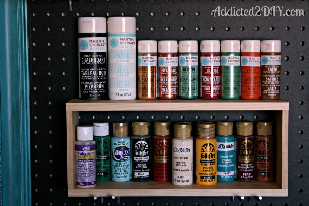 Craft room pegboard organization addicted 2 diy craft room pegboard 2 publicscrutiny Images