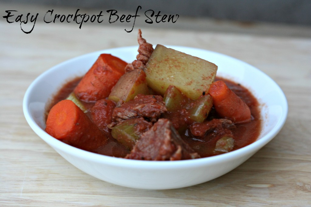 Easy Crockpot Beef Stew