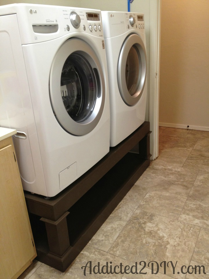 if own working you timber yourself all for worth money around by comfortable washer of australia can diy lifehacker pedestal some save re laundry making your with original
