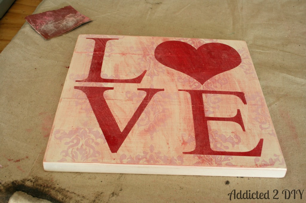 Shabby Chic {Love} Art