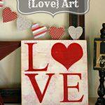 Shabby Chic {Love} Art