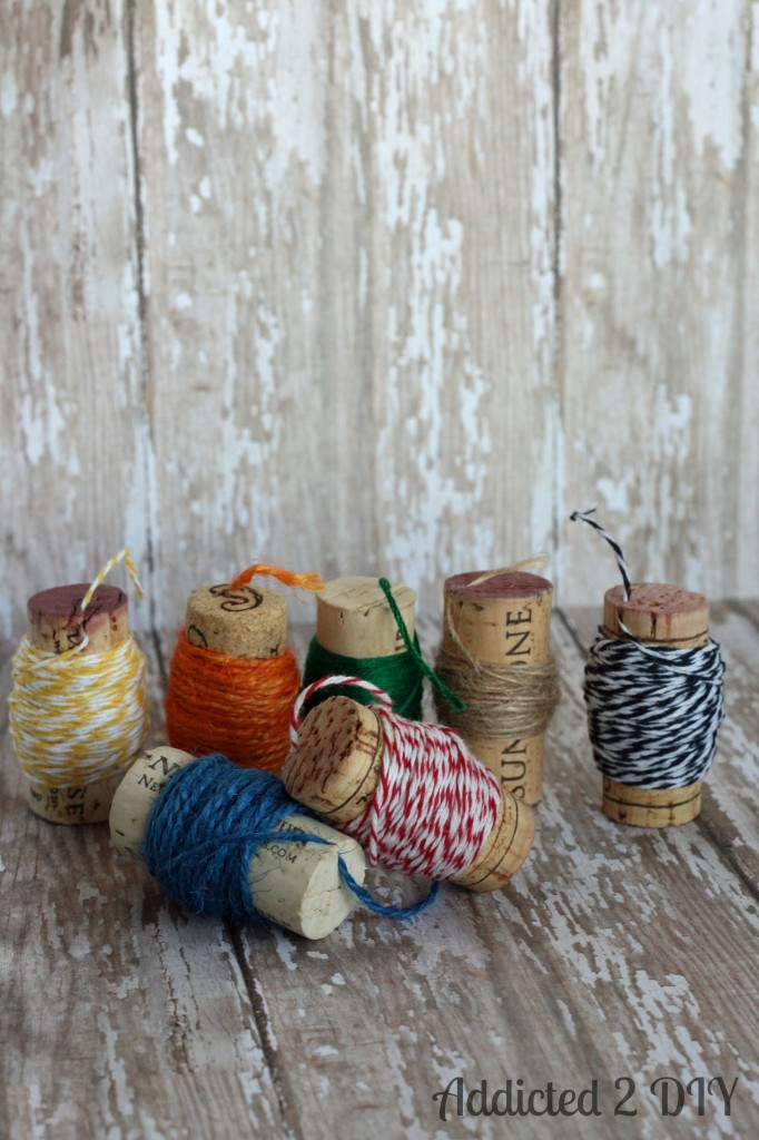 Wine Cork Spools for twine