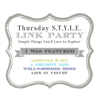 Thursday Style Link Party 2