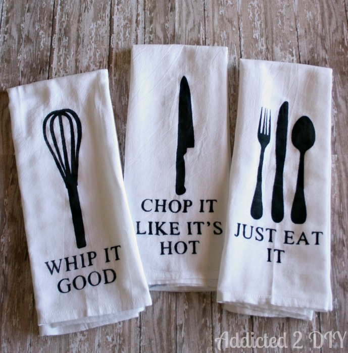 Hanging Towels In Kitchen Ideas