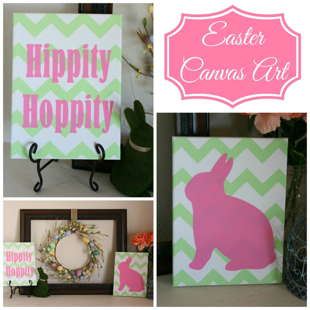 Easter Canvas Art | Addicted 2 DIY