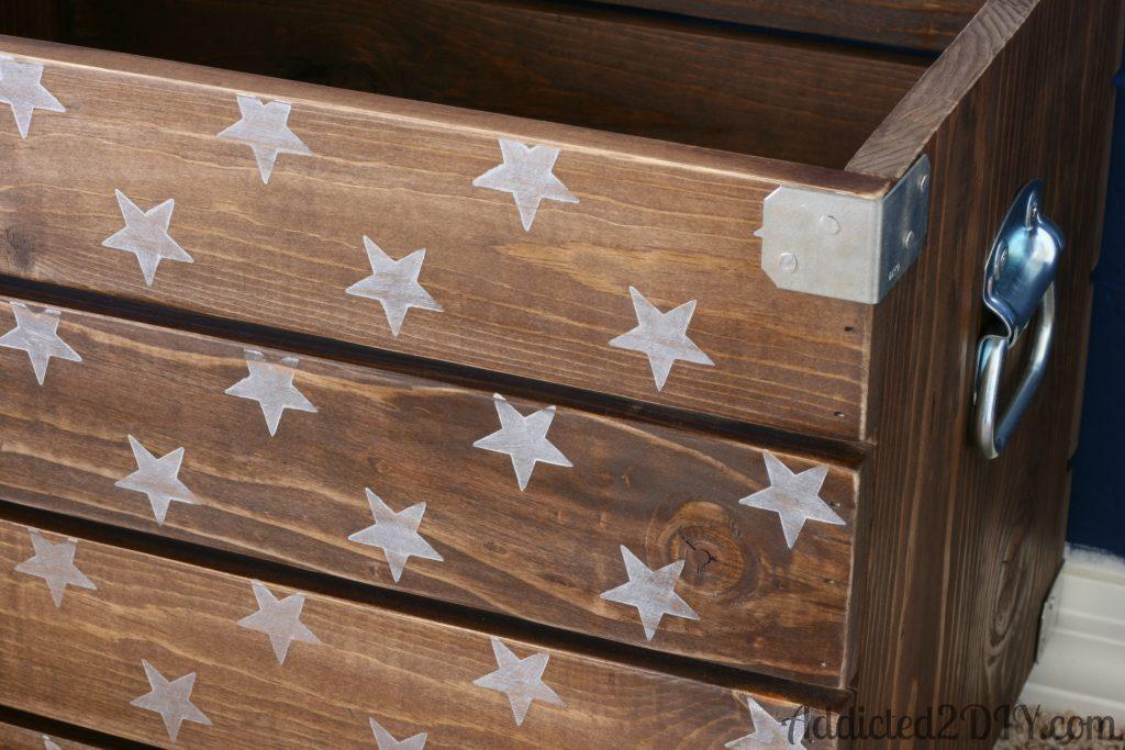 Diy Industrial Wood Crate Toy Box Addicted 2 Diy