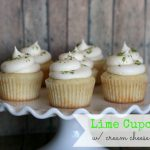 Lime Cupcakes with Cream Cheese Frosting