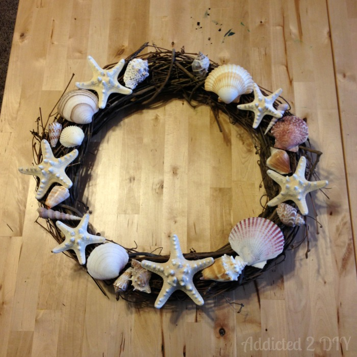 DIY Seashell Wreath | Addicted 2 DIY