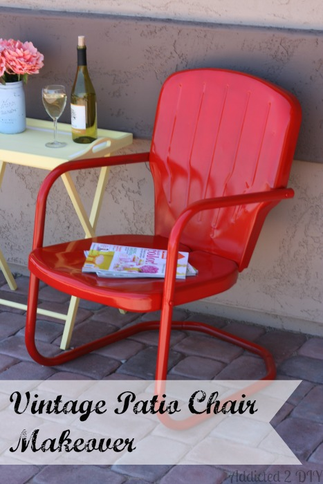How to give a new life to a rusty, forgotten chair