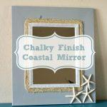 Chalky Finish Coastal Mirror