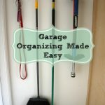 Garage Organizing Made Easy {with Rubbermaid}