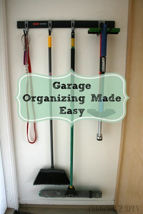 Garage Organizing Made Easy {with Rubbermaid} | Addicted 2 DIY