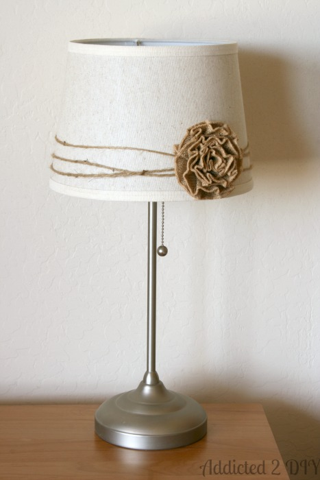 Simple steps to take a lamp from bland to gorgeous.