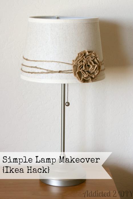simple lamp makeover ikea hack addicted 2 diy. Black Bedroom Furniture Sets. Home Design Ideas