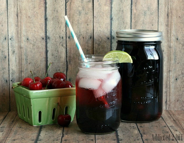 Cherry Pie Moonshine Cocktail