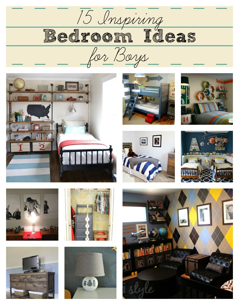15 Inspiring Bedroom Ideas For Boys Addicted 2 Diy Interiors Inside Ideas Interiors design about Everything [magnanprojects.com]