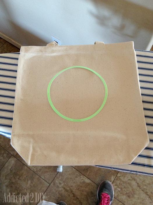 Glitter Vinyl Gift Totes