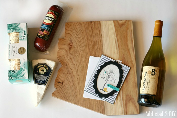 DIY State Pride Cheese Board