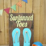 Rustic Beach Art {Guest Post at I Heart Naptime}