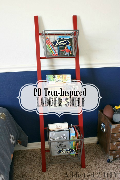 PB Teen-Inspired Ladder Shelf