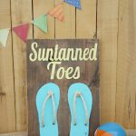 Rustic Wooden Summer Art