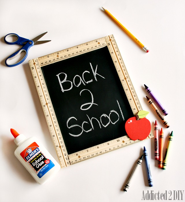 Back to School Chalkboard Sign