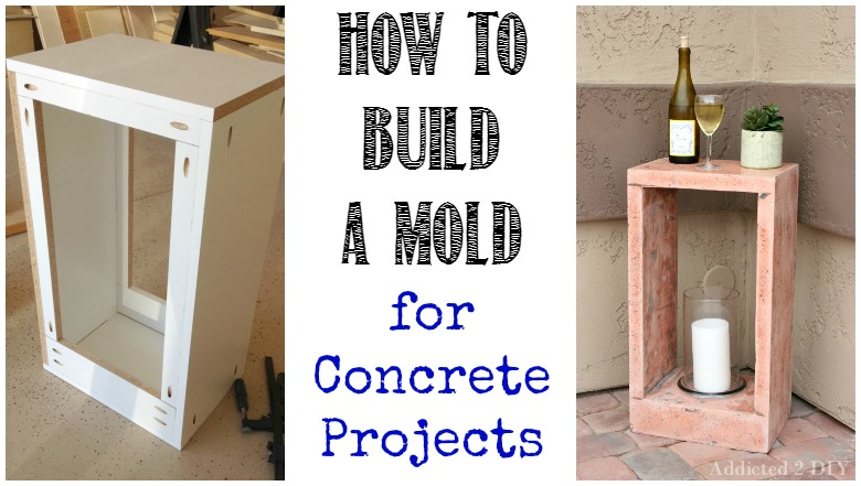 Build a Mold for Concrete Projects