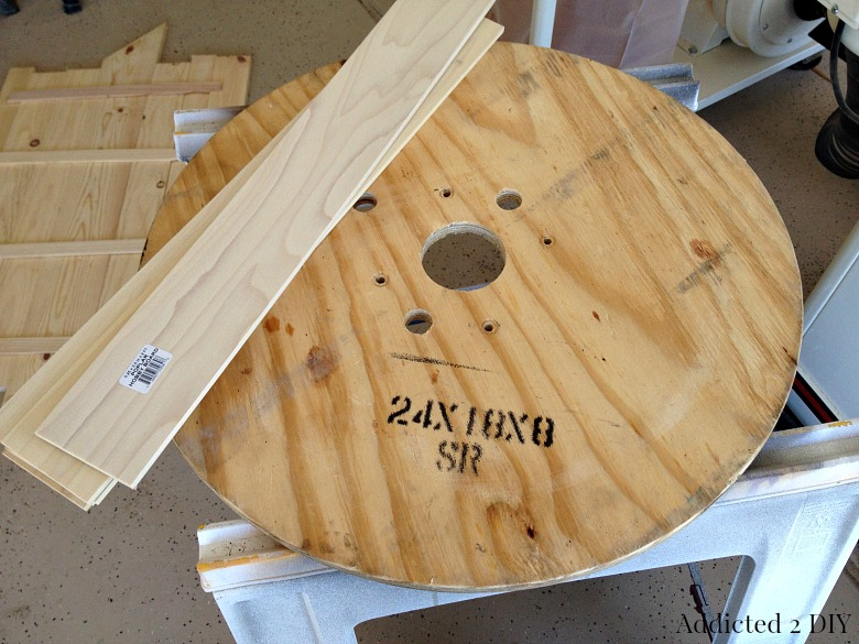 Fall Back with a DIY Rustic Clock made from a Wooden Spool