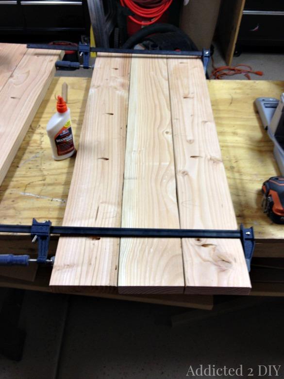 DIY Rustic Industrial Bar Cart