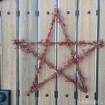 Pottery Barn-Inspired Star Wreath