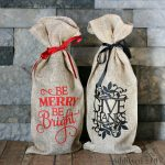 Customized Wine Gift Bags for the Holidays