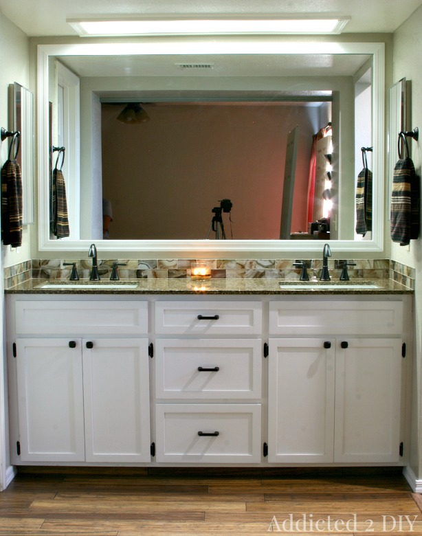 Bathroom Vanity Plans: DIY Double Bathroom Vanity
