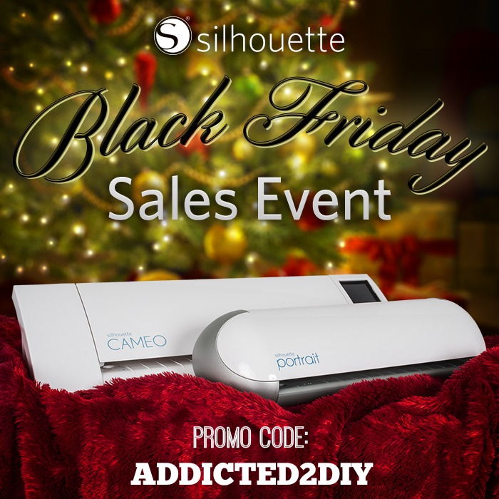Silhouette Black Friday Sale 2014 {Plus a Silhouette Portrait Giveaway}