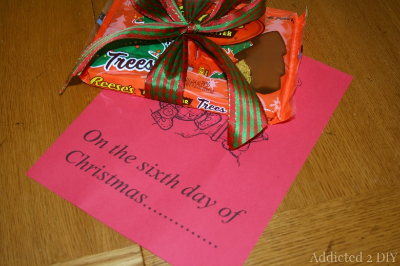 12 Days of Christmas Neighbor Gift Idea