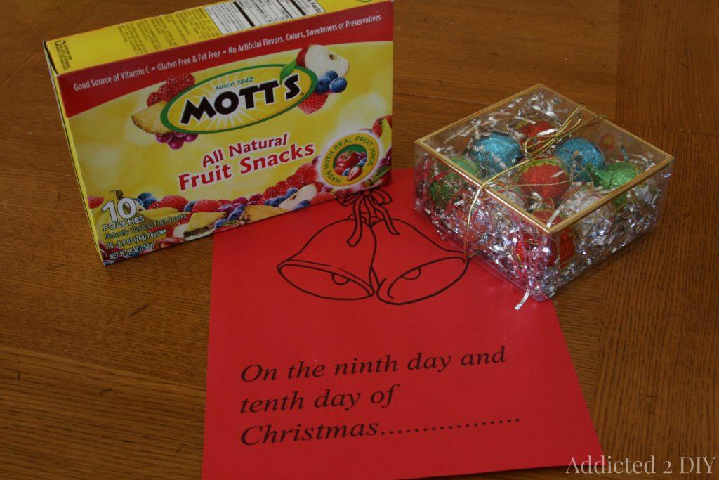 12 days of christmas neighbor gift idea - 12 Days Of Christmas For Neighbors