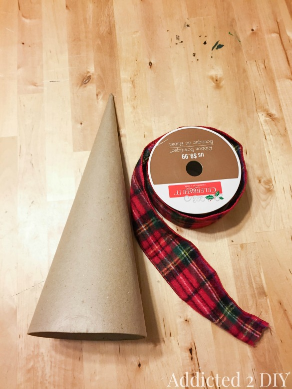 Simple and Cozy Flannel Christmas Trees