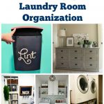 Let's Get Organized! - Life Changing Laundry Room Organization